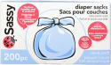 Deals List: Sassy Baby Disposable Diaper Sacks, 200 Count