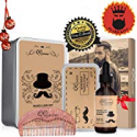 Deals List: QQwow Beard Kit Best for Mens Grooming and Beard Care