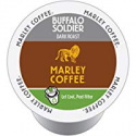 Deals List: Marley Coffee Single Serve K-cup Capsules, Buffalo Soldier, Dark Roast, Keurig Brewer Compatible, 24 Count (Pack of 6)
