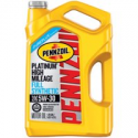 Deals List: Pennzoil Platinum High Mileage 5W-30 Synthetic Motor Oil 5 qt