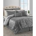 Deals List: Sunham Dekalb 20-Pc. Taupe Queen Comforter Set
