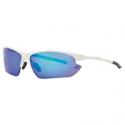 Deals List: Rawlings 7 Men's Sport Baseball Sunglasses White Blue Sport Cycling