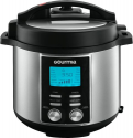 Deals List: Gourmia - 6-Quart Pressure Cooker - Stainless Steel, GPC655