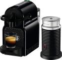 Deals List: Nespresso - Inissia Espresso Machine with Aeroccino Milk Frother by DeLonghi - Intense Black, EN80BAE