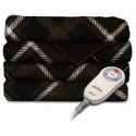 Deals List: Sunbeam Electric Heated Microplush Throw Blanket, 60-Inch by 50-Inch