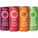 Deals List: IZZE Sparkling Juice, 4 Flavor Variety Pack, Pack of 24, 8.4 oz Cans