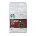 Deals List: Starbucks Breakfast Blend Medium Roast Ground Coffee, 28-ounce bag