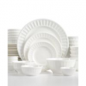Deals List: Gibson White Elements Paloma Embossed 42-Piece Set, Service for 6