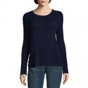 Deals List: St. John's Bay Womens Crew Neck Long Sleeve Pullover Sweater