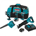 Deals List: Makita XT506S 18V LXT Lithium-Ion Cordless 5 Piece Combo Kit