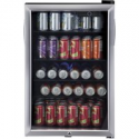 Deals List: Haier 150 Can Locking Beverage Center HEBF100BXS, Stainless Steel