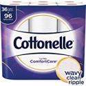 Deals List: Cottonelle Ultra ComfortCare Toilet Paper, Soft Biodegradable Bath Tissue, Septic-Safe, 36 Family+ Rolls