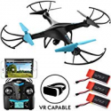 Deals List: Force1 U45WF WiFi FPV Beginner Drone with Camera, RC Drones