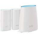 Deals List: NETGEAR Orbi Wall-Plug Whole Home Mesh WiFi System - WiFi Router and 2 Wall-Plug Satellite Extenders with speeds up to 2.2 Gbps Over 5,000 sq. feet, AC2200 (RBK33)
