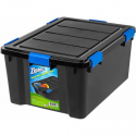 Deals List: Ziploc 60 Qt. WeatherShield Storage Box, Black