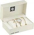 Deals List: Anne Klein Women's AK/3288GBST Swarovski Crystal Accented Gold-Tone Watch and Bangle Set
