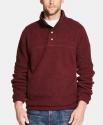 Deals List: Weatherproof Vintage Men's 1/2 Button Mock Snap Sweater (select colors)
