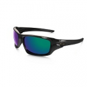 Deals List: Oakley Valve Sunglasses Polished Black Deep Blue
