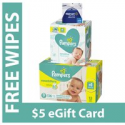 Deals List: 168-CT Pampers Swaddlers Diapers Size 3 + 392-CT Baby Wipes + $5 GC