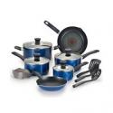 Deals List: Farberware 17-Pc. Non-Stick Aluminum Cookware Set
