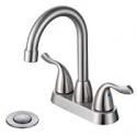Deals List: Desfau Modern 3 Hole 4-In Centerset Two Handle Bathroom Faucet