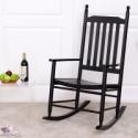 Deals List: Costway Wooden Balcony Deck Garden Porch Armchair Rocking Chair