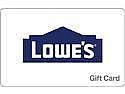 Deals List: $50 Lowe's Gift Card