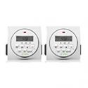 Deals List: 2 Pack Century FD60-U6 Indoor Digital Timer