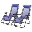 Deals List: Set of 2 Zero Gravity Outdoor Patio Chairs