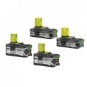 Deals List: 4-Pack Ryobi P1822 18-Volt ONE+ Lithium-Ion Battery Kit