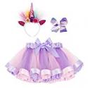 Deals List: Simplicity Girls Rainbow Layered Tulle Tutu Skirt