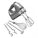 Deals List: KitchenAid KHM926CU 9-Speed Digital Hand Mixer with Turbo Beater II Accessories and Pro Whisk - Contour Silver