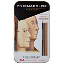Deals List: Sanford 25085R Prismacolor Premier Colored Pencils, Portrait Set, Soft Core, 24-Count