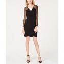 Deals List: INC International Concepts Illusion-Sleeve Sheath Dress