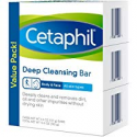 Deals List: Cetaphil Deep Cleansing Face & Body Bar for All Skin Types (Pack of 3)