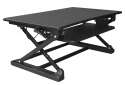 Deals List:  xec-FIT Adjustable Height Convertible Sit to Stand Up Desk (XAFD-M1)