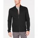 Deals List: Tasso Elba Men's Zip-Front Heathered Jacket