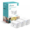 Deals List: TP-LINK HS105P3 Kasa Smart Plug Mini, WiFi Enabled (3-Pack) Control your Devices from Anywhere, No Hub Required, Compact Design, Works With Alexa and Google Assistant White