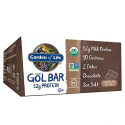 Deals List: Garden of Life Organic GOL Bars – Chewy High Protein Whole Food Bar – Chocolate Sea Salt (12 per Carton) | Certified Organic, Non-GMO & Gluten Free, No Gluten, No Added Sugar – 12g Milk Protein