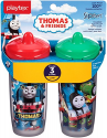 Deals List: Playtex Sipsters Stage 3 Thomas The Train Spill-Proof, Leak-Proof, Break-Proof Insulated Spout Sippy Cups - 9 Ounce - 2 Count