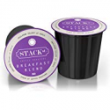 Deals List: STACK STREET 80 Count Breakfast Blend Single-Serve Coffee Pods, Compatible With Keurig 2.0 K-Cup Brewers