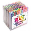Deals List: Courise 108 Unique Colors Gel Pens Gel Pen Set For Adult Coloring Books Drawing Painting Writing Doodling