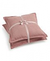 "Deals List: Lacourte Handcrafted Solid Chenille 20"" Square Decorative Pillow Pair"