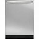 Deals List: Frigidaire Gallery FGID2466QF Top Control Built-In Dishwasher with OrbitClean Spray Arm in Smudge Proof Stainless Steel, ENERGY STAR, 52 dBA