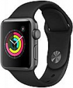 Deals List: Apple Watch Series 3 (GPS, 38mm) - Space Gray Aluminium Case with Black Sport Band