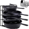 Deals List: Cuisinel Heavy Duty Pan Organizer, 5 Tier Rack