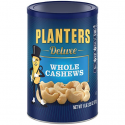 Deals List: Planters Deluxe Whole Cashews, Salted, 18.25 Ounce Canister