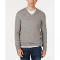Deals List: Club Room Mens V-Neck Cashmere Sweater