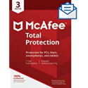 Deals List: McAfee Total Protection Antivirus for 3 Device 2019 1-Year Sub