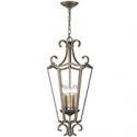 Deals List: World Imports WI61020 5-Light Distressed Brass Pendant